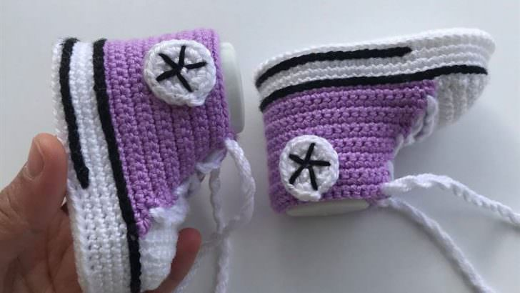 Converse Bebek Patik Yapımı