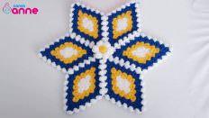 Nazar yıldızı lif modeli yapımı