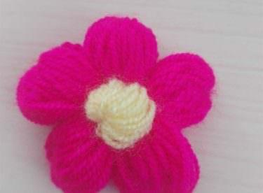 Puf Lif Çiçeği Yapımı
