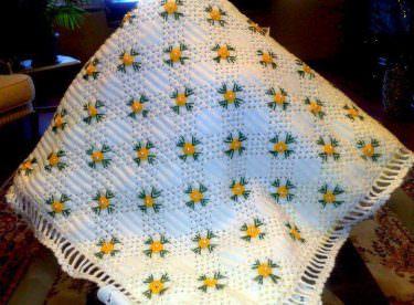 Güzel Bebek Battaniye Örnekleri