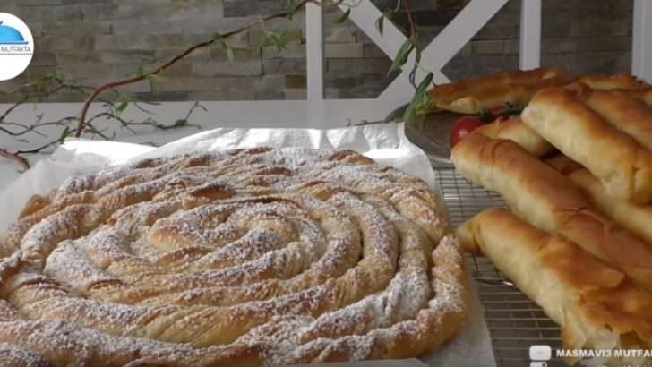 El Açması Çıtır Börek ve Katmer Tarifi
