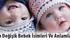 En Değişik Bebek İsimleri – Farklı Bebek İsimleri
