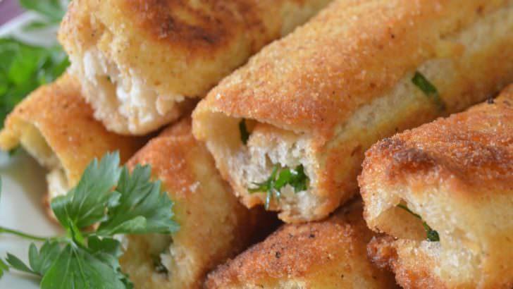 Kahvaltılık Tost Ekmeğinden Börek Tarifi