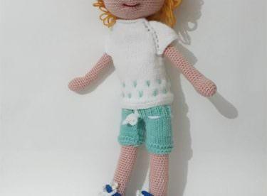 Amigurumi Kıvırcık Saçlı Erkek Bebek Yapımı