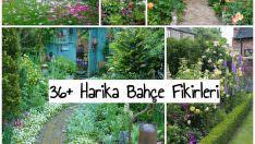 36+ Güzel Bahçe Fikirleri