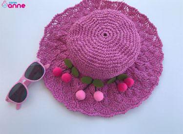 Kağıt ipten yazlık şapka yapımı