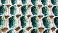Tığ İşi Çubuk Desenli Battaniye Yapımı