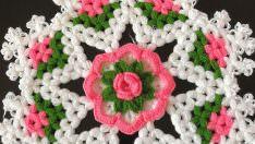 Çiçekli Kar Tanesi Lif Modeli Yapımı