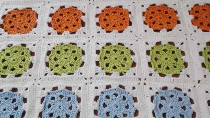 İlkbahar Motifli Bebek Battaniyesi Yapımı