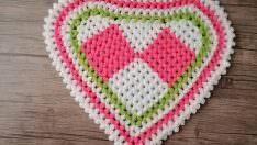 Şekilli kalp lif modeli yapılışı