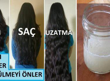 Soğan Suyu İle Saç Uzatma