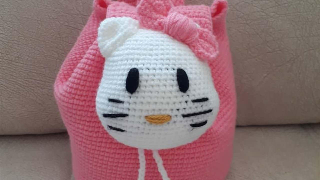Hello kitty yapılışı 10 amigurumi - YouTube | 720x1280