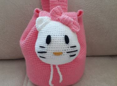 Hello Kitty Sırt Çantası Yapımı