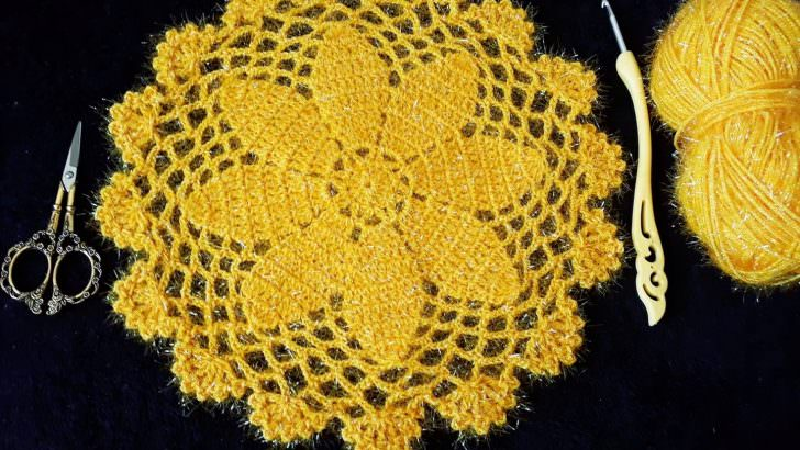 Crochet supla modeli yapımı