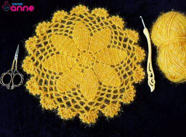 Kolay supla örgü modeli yapımı
