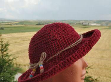 Tığ İşi Yazlık Şapka Yapımı