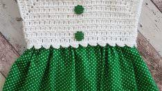 Örgü Yazlık Şirin Elbise Modeli Yapımı