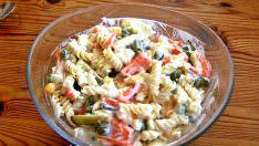 Makarna Salatası Kilo Aldırır mı? Diyet Makarna Salatası Tarifi!
