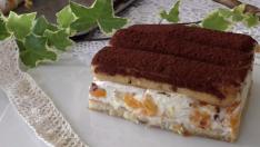 Pratik Meyveli Soğuk Pasta Tarifi