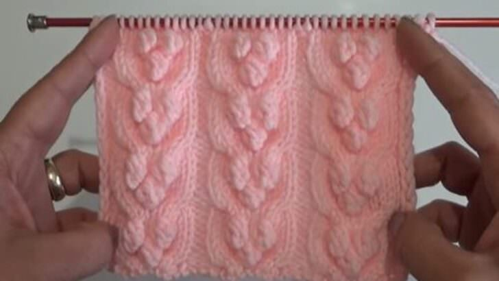 Fındık sepeti örgü modeli yapımı