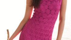 Tığ İşi Yazlık Kadın Elbise Yapımı