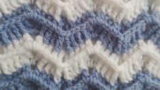 Zig Zag Modeli ile Battaniye Yapımı