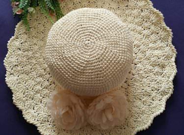 Kağıt iple şapka yapımı