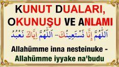 Kunut duaları