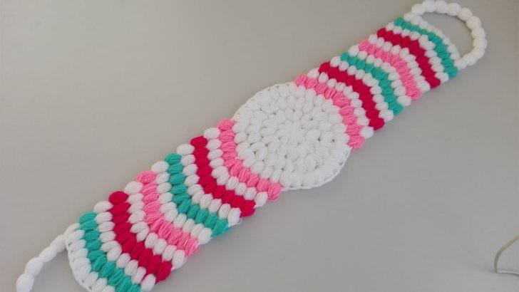 Rengarenk uzun lif modeli yapımı
