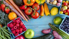 Ağustos Ayı Meyve ve Sebzeleri