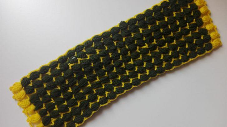Şeritli uzun lif modeli yapımı