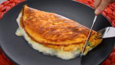 Üç Malzemeli Börek Tadında Omlet Tarifi