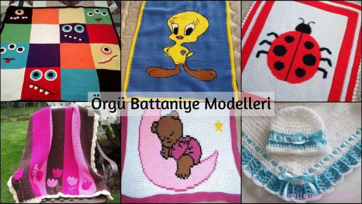 Örgü Battaniye Modelleri (İstek Üzerine)