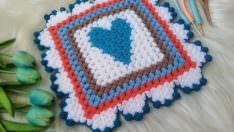 Kare kalp desenli lif yapımı