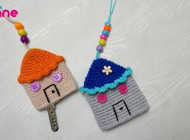 Amigurumi Ev Anahtarlık Yapılışı