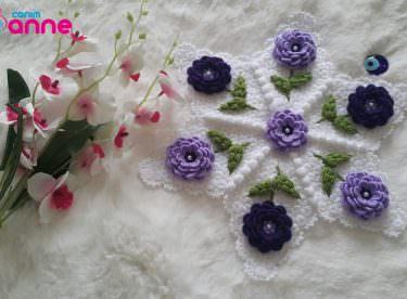 Güllerin yıldızı lif yapımı