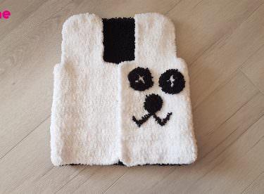 Panda Bebek Yeleği Yapılışı