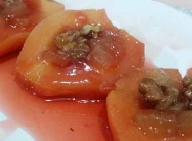 Tencerede gıda boyasız ayva tatlısı tarifi
