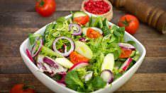 Lezzetli Salata Yapmanın Püf Noktaları!