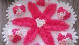 Ortanca çiçekleri lif modeli yapılışı