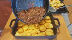 Patates musakka yemeği tarifi