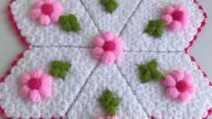 Çiçek tarlası lif yapılışı