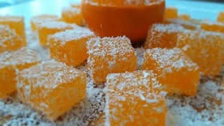 Portakallı Lokum Nasıl Yapılır