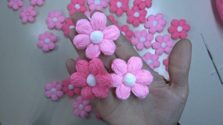 Kendin Yap Çatalla Çiçek Motifi Yapılışı