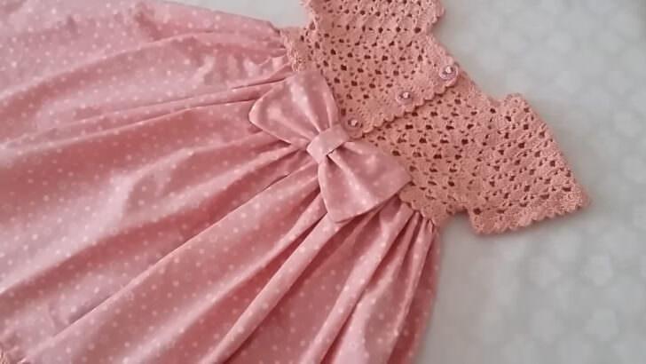 Bayram şekeri robalı elbise yapımı