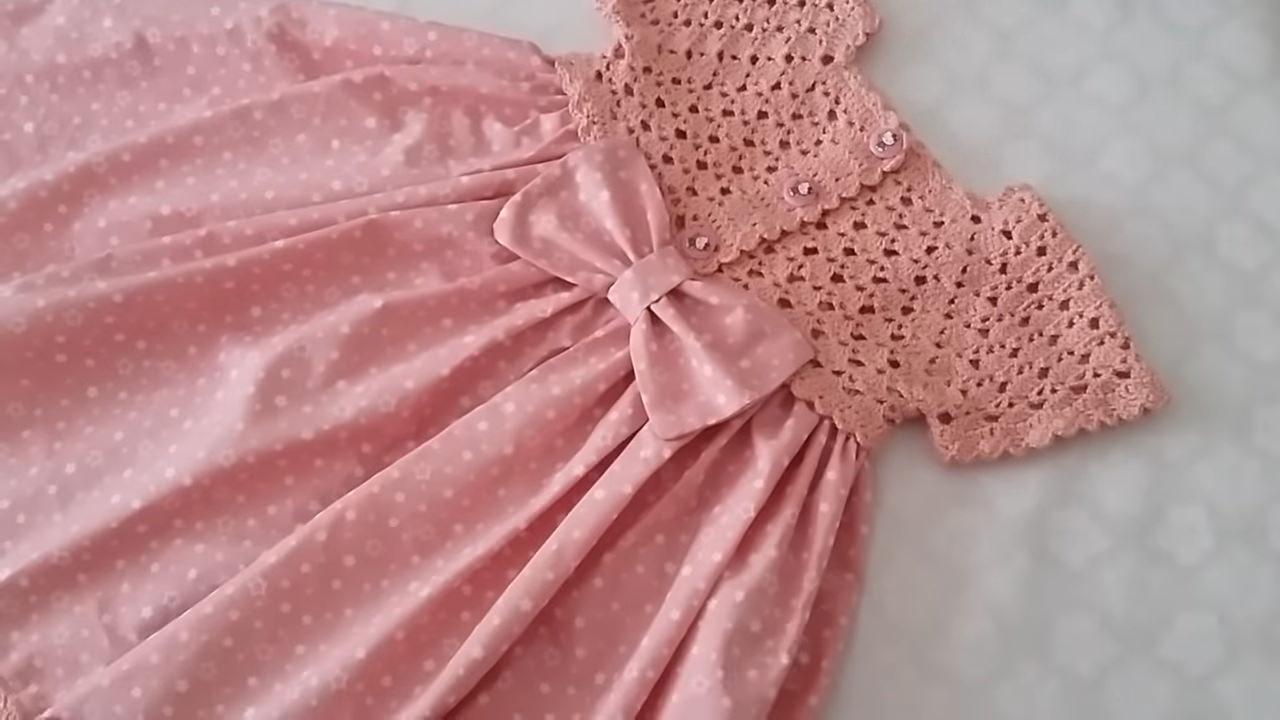 Kumaşlı Amigurumi Bebek Elbisesi Yapımı - Örgü Modelleri | 720x1280