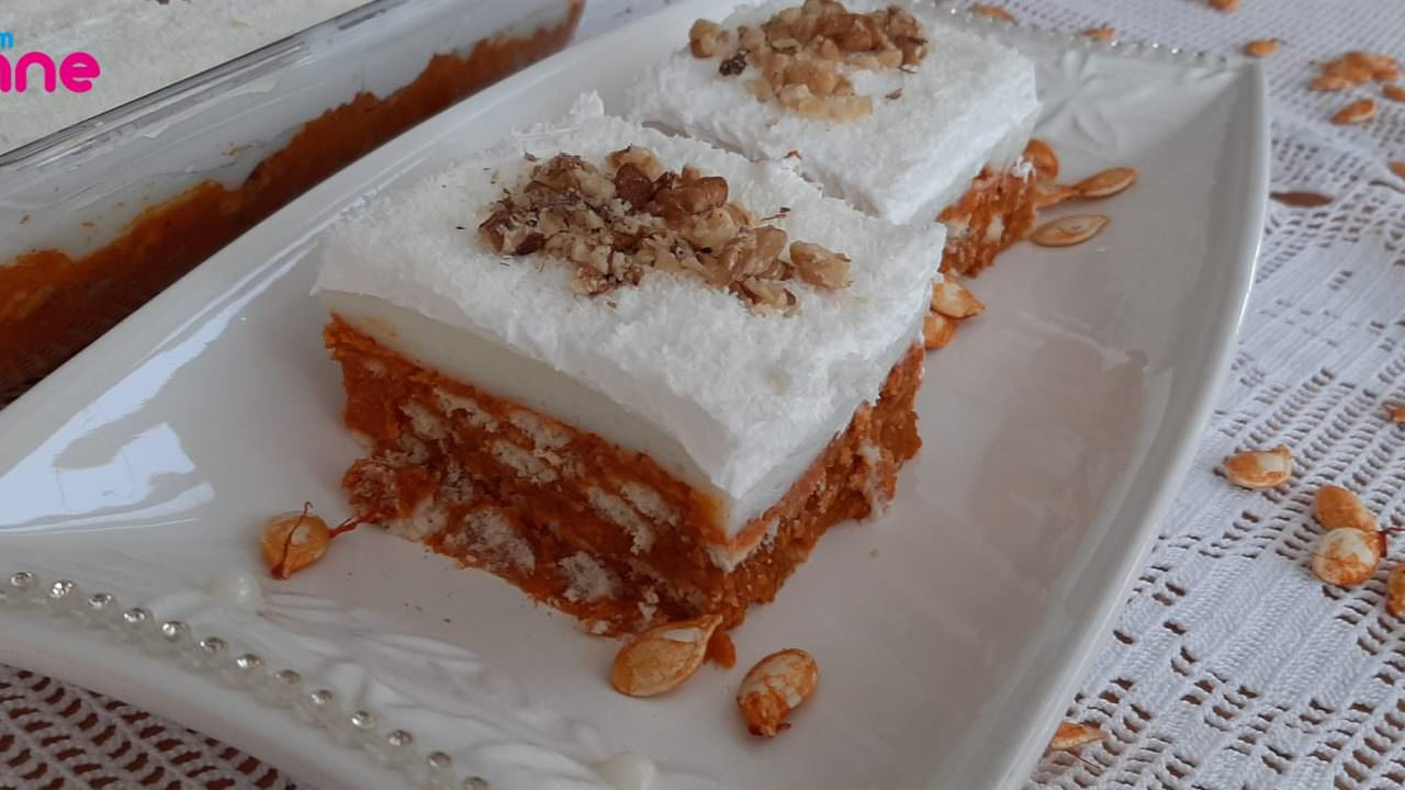 Kolay balkabaklı pasta tarifi