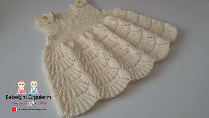 Süpürge Modelli Bebek Elbisesi Yapımı