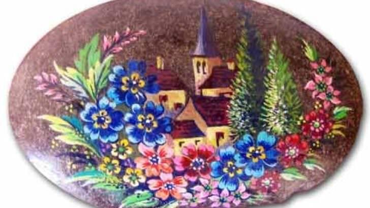 Taş Boyama Sanatı – Kolay Taş Boyama Örnekleri
