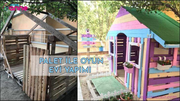 Palet ile Oyun Evi Yapımı